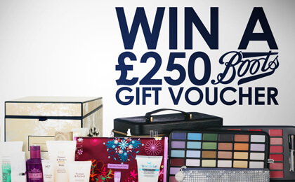 £250 Boots Gift Card