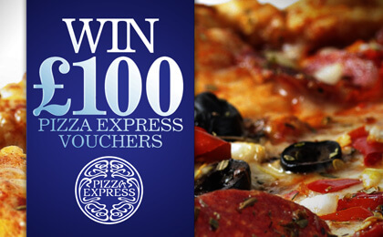 £100 Pizza Express voucher