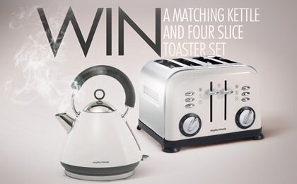Morphy Richard Kettle & Toaster set
