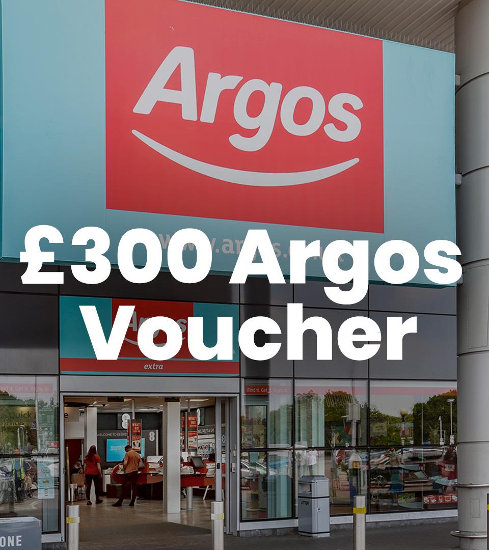 Argos £300 Voucher