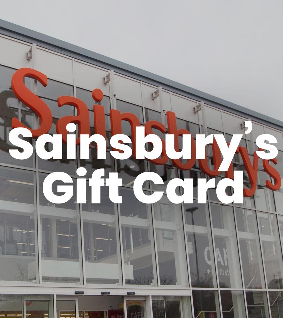 Sainsbury's £100 Gift Voucher
