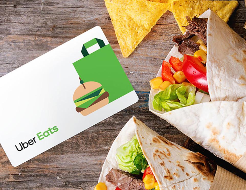 £100 Uber Eats Gift Card