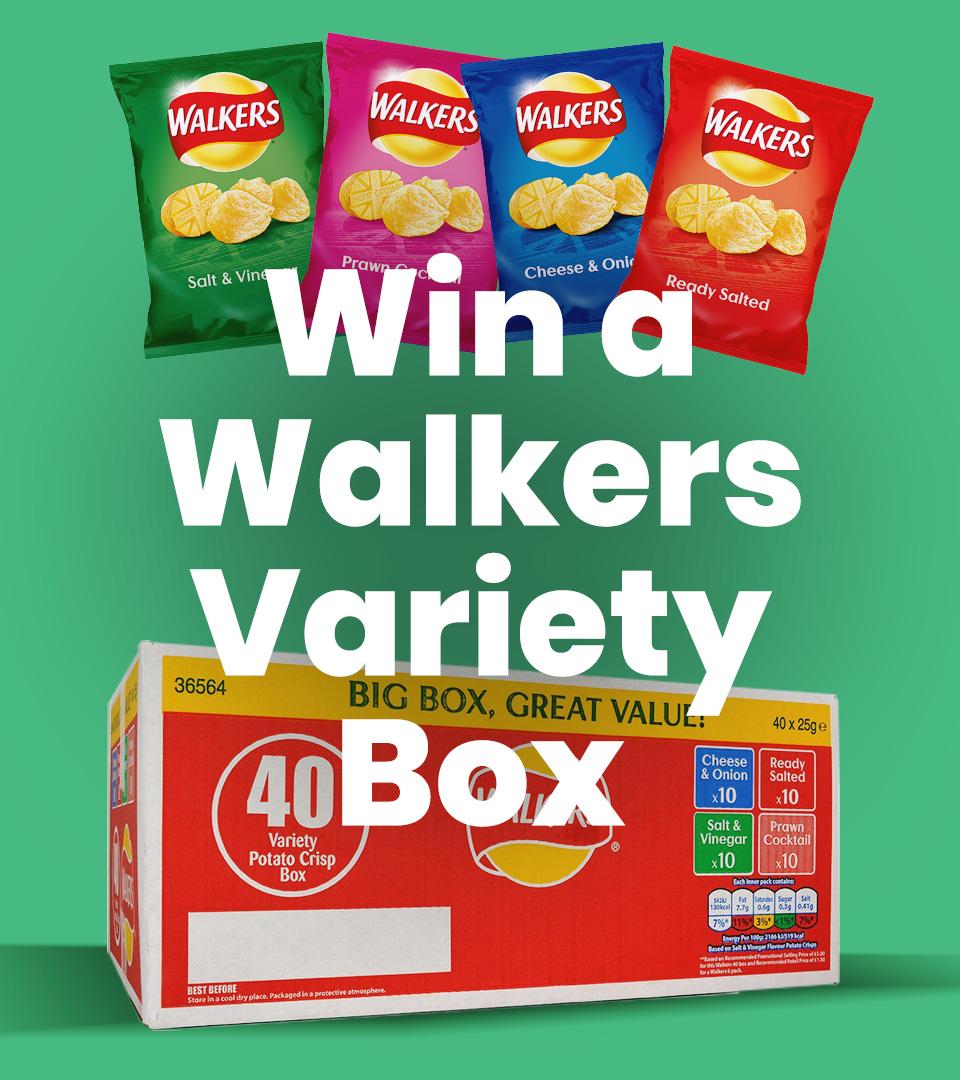 Walkers Variety Box Crisps